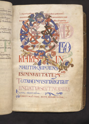 Psalm 51 Initial, In 'The Bosworth Psalter'